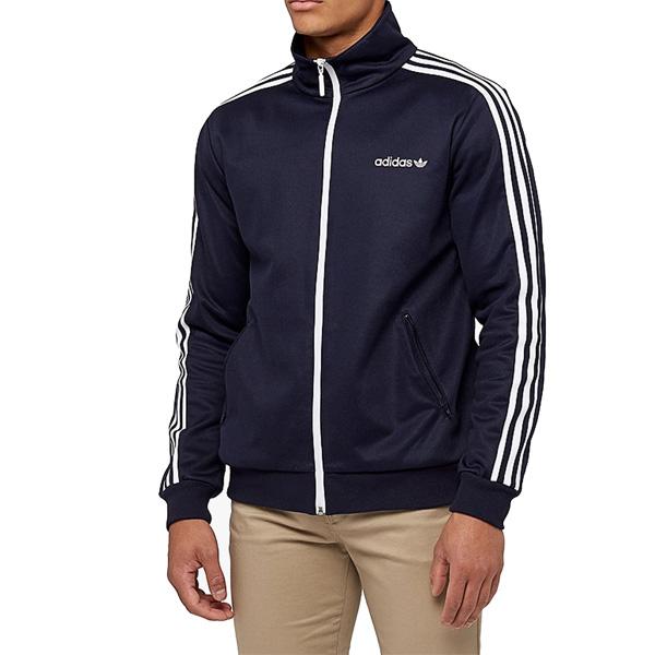 アディダス オリジナルス メンズ トラックジャケット ベッケンバウアー ジャージ ブルー BR2290 adidas ORIGINALS Men's Beckenbauer Track Jacket Legend Ink あす楽対応 【コンビニ受取対応商品】