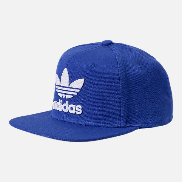 326947acee2 Adidas originals hat トレフォイルチェインスナップバックキャップ blue blue adidas ORIGINALS  Trefoil Chain Snapback cap CI8478