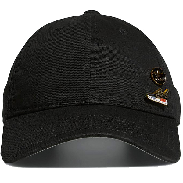 Adidas originals men cap relaxation strap back pin cap hat black black  adidas ORIGINALS Relaxed Strapback Pin Cap 5144805 02b19a6aea1