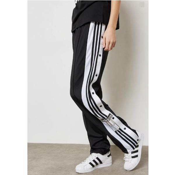 ???????????????????????????????? CV8276 adidas originals Women Adibreak Track Pants Black Carbon