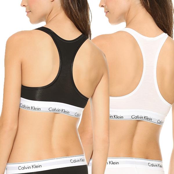 d3d1a24af4097 Calvin Klein women s sports bra non-wire bra gray black CK Calvin Klein  Modern Cotton Bralette 02P05Nov16