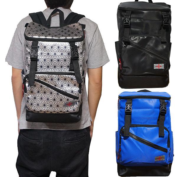 軽量 リュック スクウェアリュック バックパック ボックス 撥水ナイロン LIFE SPIRIT Square Backpack