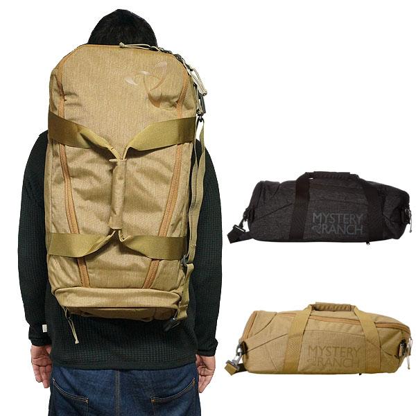 ミステリーランチ リュック 3WAY ショルダーバッグ ミッション ダッフルバッグ コヨーテ ブラック 40L Mystery Ranch Mission Duffel Bag