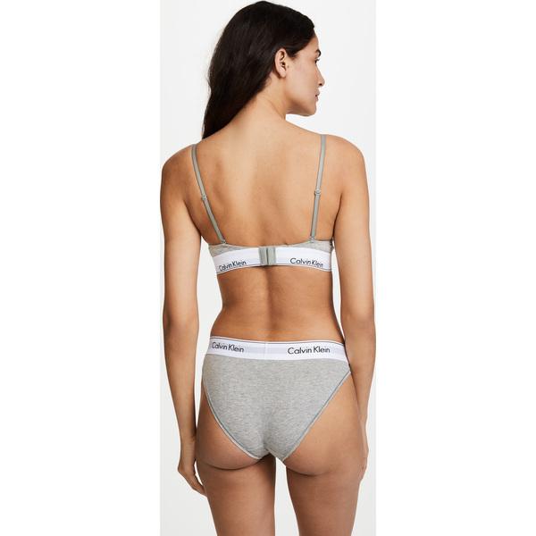 b55c4a6ff (order) Calvin Klein Underwear Women s Modern Cotton Triangle Bra Calvin  Klein underwear lady s modern cotton triangle bra GreyHeather