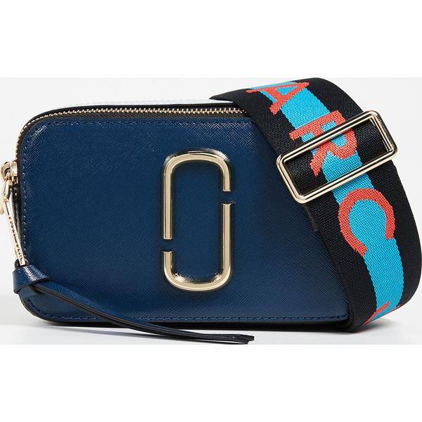 (取寄)Marc Jacobs Snapshot Camera Bag マークジェイコブス スナップショット カメラ バッグ BlueSeaMulti