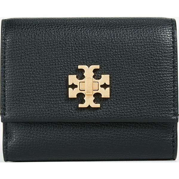 トリーバーチ 二つ折り 財布 ブラック Tory Burch Kira Foldable Medium Wallet キラ フォルダブル ミディアム ウォレット