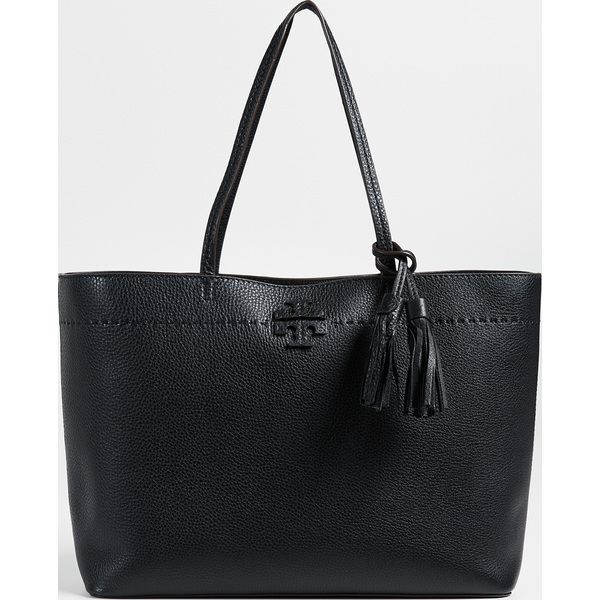 (取寄)Tory Burch Mcgraw Tote トリーバーチ Mcgraw トート BlackNavy