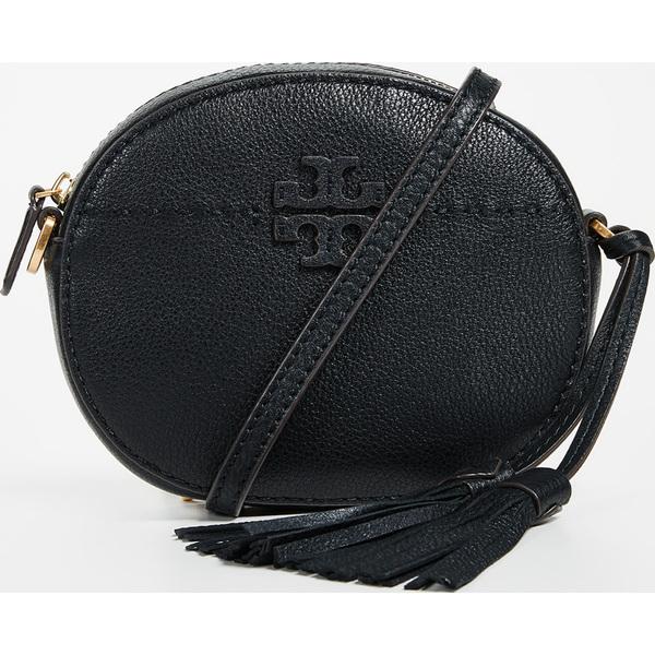 879014166dc (order) Tory Burch Mcgraw Round Cross Body Bag Tolly Birch Mcgraw round crossbody  bag Black
