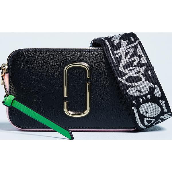 (取寄)Marc Jacobs Snapshot Camera Bag マークジェイコブス スナップショット カメラ バッグ BlackBabyPink
