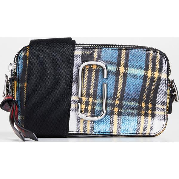 (取寄)Marc Jacobs Snapshot Tartan Camera Bag マークジェイコブス スナップショット タータン カメラ バッグ BlueMulti