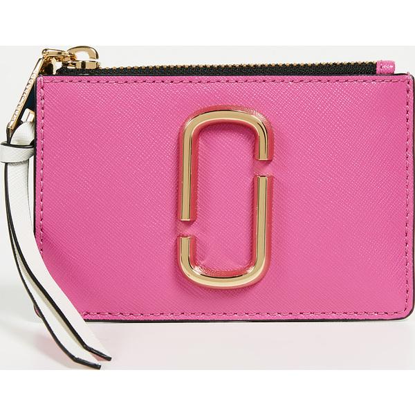 (取寄)Marc Jacobs Snapshot Top Zip Multi Wallet マークジェイコブス スナップショット トップ ジップ マルチ ウォレット VividPink
