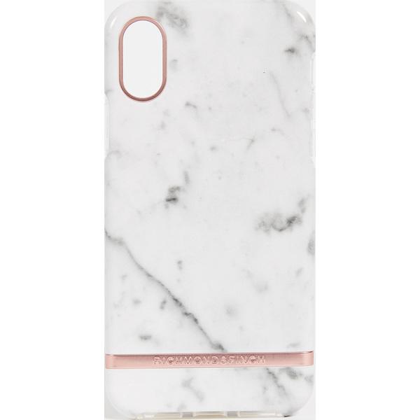 (取寄)Richmond & Finch White Marble iPhone X Case リッチモンド & フィンチ ホワイト マーブル iPhone X ケース WhiteMarbleRoseGold