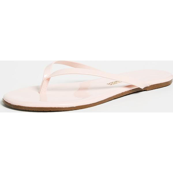 (取寄)TKEES Women's Glossy Flip Flops ティキーズ レディース グロッシー フリップ フロップス WhipCream