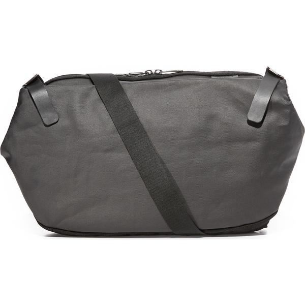 (取寄)Cote & Ciel Riss Coated Canvas Messenger Bag コートエシエル リス コーテッド キャンバス メッセンジャー バッグ Black
