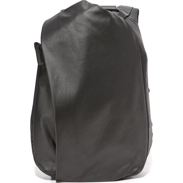 【エントリーでポイント5倍】(取寄)Cote & Ciel Isar Coated Canvas Medium Backpack コートエシエル イザール コーテッド キャンバス ミディアム バックパック Black