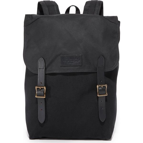 【エントリーでポイント5倍】(取寄)FILSON Ranger Backpack フィルソン レンジャー バックパック Black