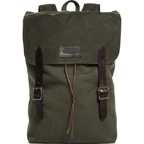 【エントリーでポイント5倍】(取寄)FILSON Ranger Backpack フィルソン レンジャー バックパック OtterGreen