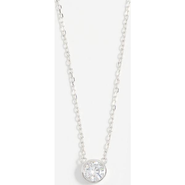 【クーポンで最大2000円OFF】(取寄)Shashi Solitaire Necklace シャシ ソリティア ネックレス WhiteGold