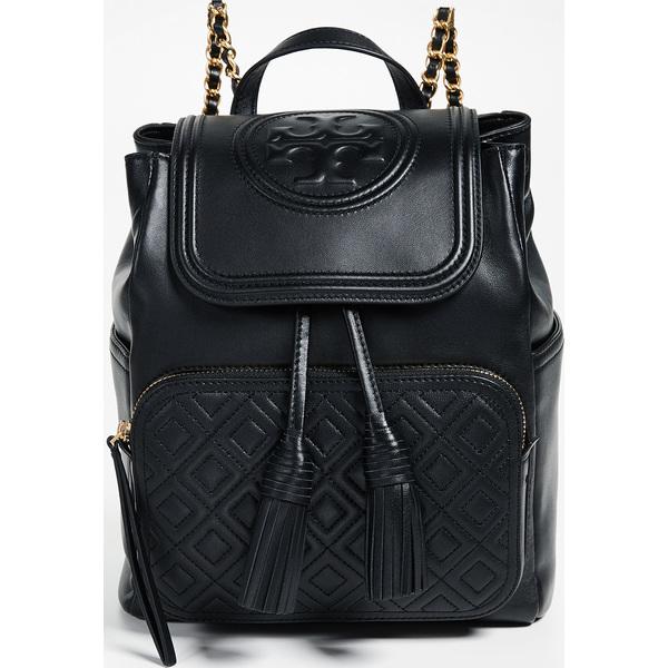 (取寄)Tory Burch Fleming Backpack トリーバーチ フレミング バックパック Black