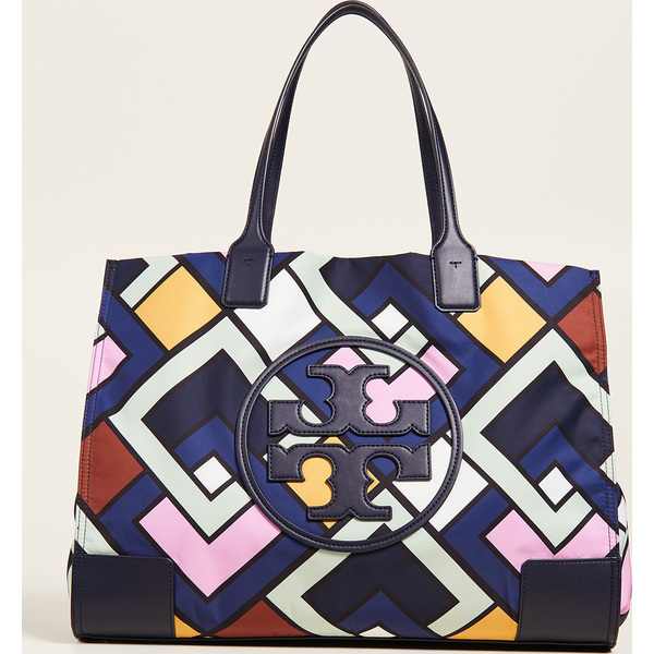 65d57e4a8bd (order) Tory Burch Ella Printed Tote Bag Tolly Birch gills pudding Ted tote  bag PicnicBox