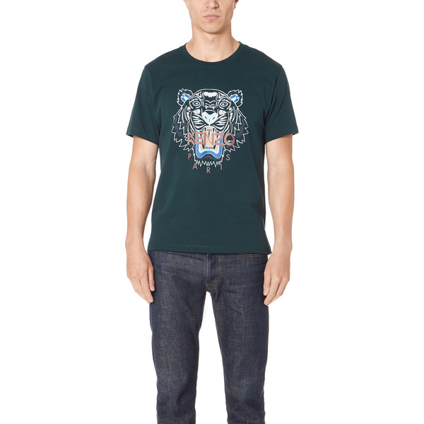 (取寄)KENZO Tiger T-Shirt ケンゾー タイガー Tシャツ Pine