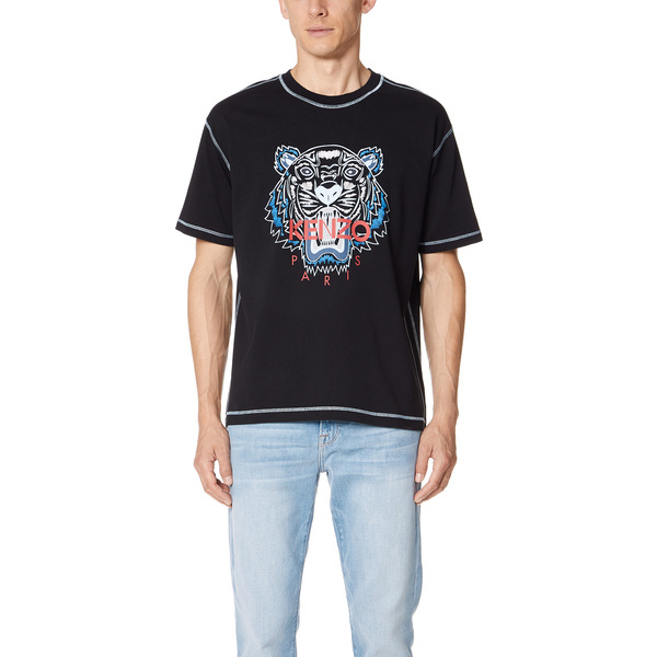 (取寄)KENZO Tiger T-Shirt ケンゾー タイガー Tシャツ Black