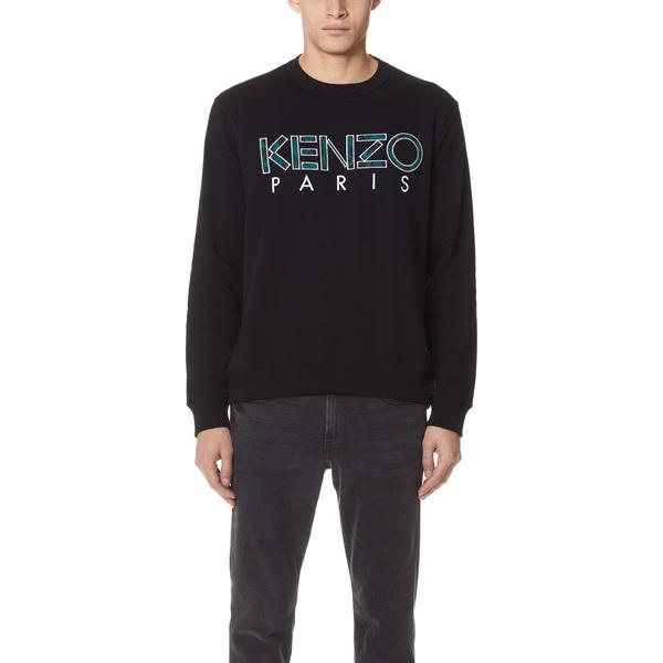 (取寄)KENZO Kenzo Paris Sweatshirt ケンゾー ケンゾー パリス スウェットシャツ Black