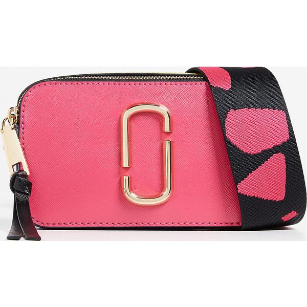 (取寄)Marc Jacobs Snapshot Crossbody Bag マークジェイコブス スナップショット クロスボディ バッグ Peony