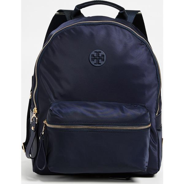 (取寄)Tory Burch Tilda Nylon Zip Backpack トリーバーチ ティルダ ナイロン ジップ バックパック Navy