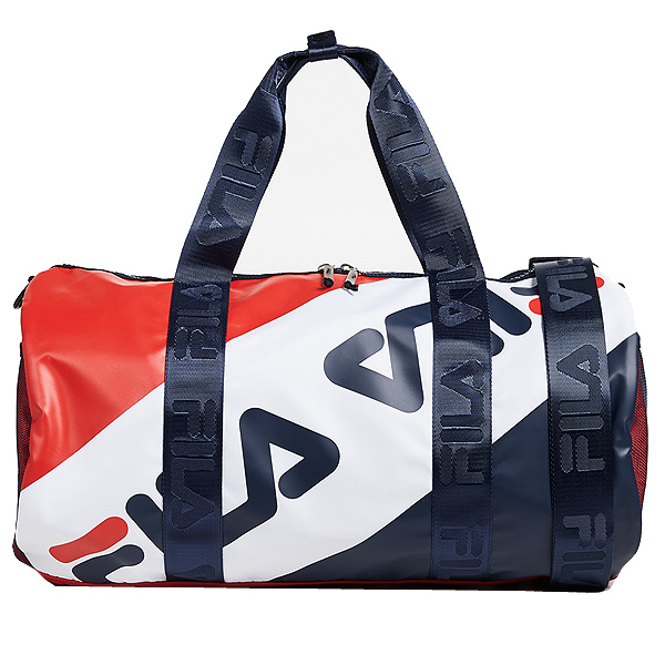 【新発売】 FILA Peacoat フィラ ボストンバッグ ベクスレー FILA White ダッフルバッグ FILA Bexley Duffel Bag Peacoat Chinese Red White, SIS_JAPAN1:a41adeb0 --- construart30.dominiotemporario.com