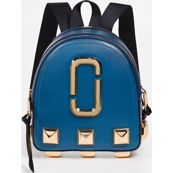 (取寄)マークジェイコブス パックショット スタッズ バックパック Marc Jacobs Packshot Studs Backpack TealMulti