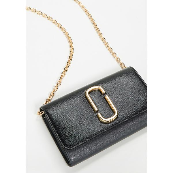(取寄)Marc Jacobs Snapshot Wallet on Chain マークジェイコブス スナップショット ウォレット オン チェイン BlackMulti