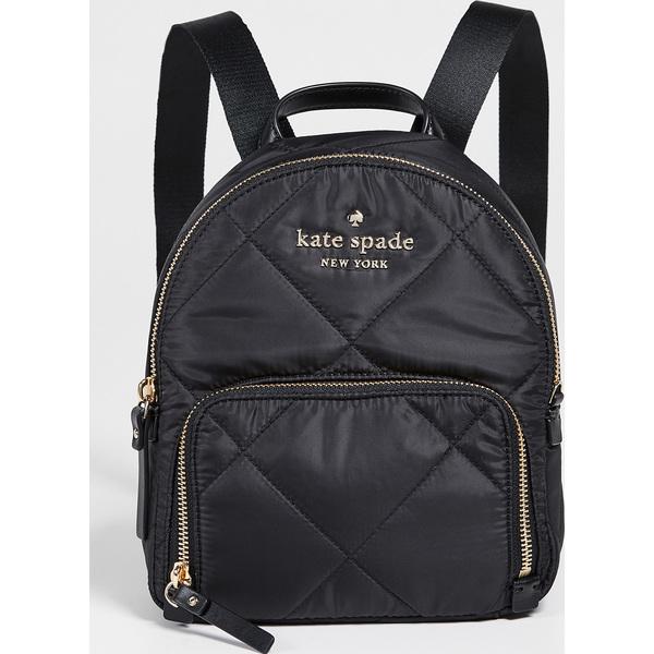 (取寄)ケイトスペード ワトソン レーン キルテッド スモール ハートレイ バックパック Kate Spade New York Watson Lane Quilted Small Hartley Backpack Black