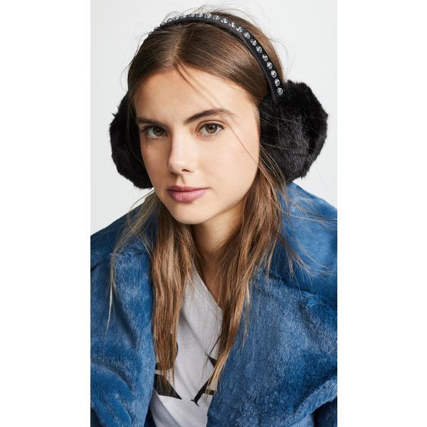(取寄)ケイトスペード ビーダゼルド イア マフ Kate Spade New York Bedazzled Ear Muffs Black