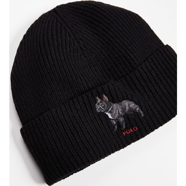 6e0c9c2562260 (order) polo Ralph Lauren French bulldog watch cap Polo Ralph Lauren French  Bulldog Watch Cap PoloBlack