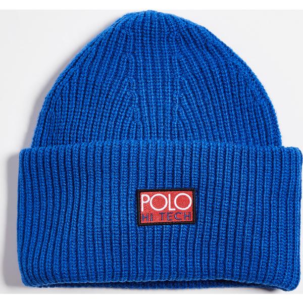 (取寄)ポロ ラルフローレン ポロ ハイ テック ビーニー Polo Ralph Lauren Polo Hi Tech Beanie Royal