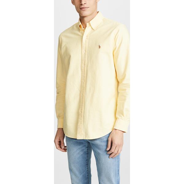 (取寄)ポロ ラルフローレン オックスフォード シャツ Polo Ralph Lauren Oxford Shirt Yellow