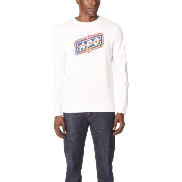 (取寄)アーペーセー Psy スウェットシャツ A.P.C. Psy Sweatshirt Blanc