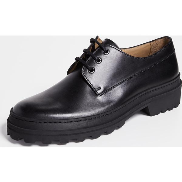 (取寄)アーペーセー レオパード ラグ ソーレ レース アップ シューズ A.P.C. Leopold Lug Sole Lace Up Shoes Black
