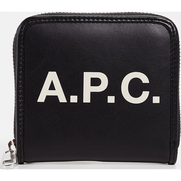 (取寄)アーペーセー モルガン ジップ ウォレット A.P.C. Morgan Zip Wallet Black