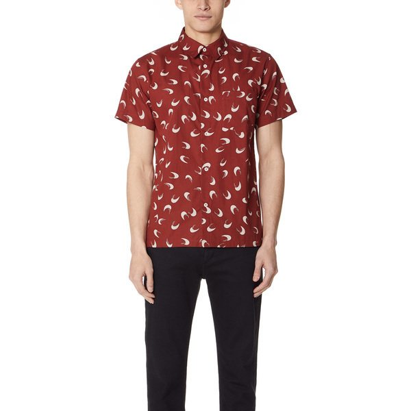 (取寄)アーペーセー チッピ シャツ A.P.C. Cippi Shirt Rouge