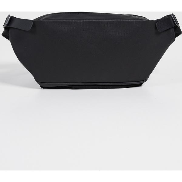 (取寄)コートエシエル イサラウ コーテッド キャンバス ベルト バッグ Cote & Ciel Isarau Coated Canvas Belt Bag Black