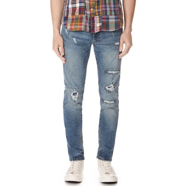 (取寄)ポロ ラルフローレン ディストレス ジーンズ Polo Ralph Lauren Distressed Jeans Shaffer