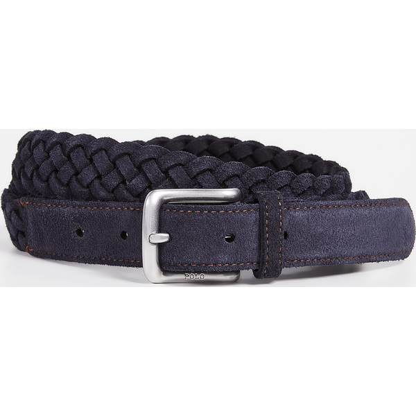 (取寄)ポロ ラルフローレン 28mm ウエストエンド ブレイデット ベルト Polo Ralph Lauren 28mm Westend Braided Belt Blue