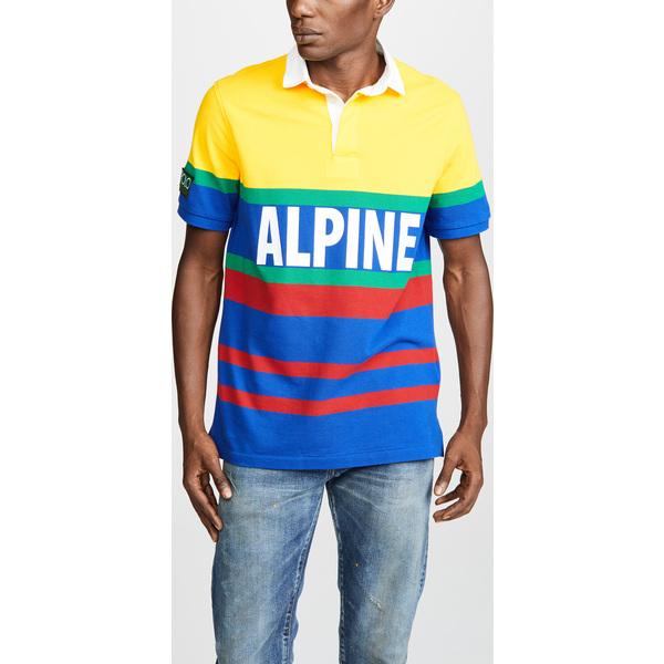 (取寄)ポロ ラルフローレン ハイ テック ショット スリーブ ラグビー ポロ シャツ Polo Ralph Lauren Hi Tech Short Sleeve Rugby Polo Shirt RacingYellow