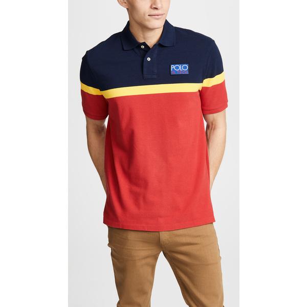 (取寄)ポロ ラルフローレン ハイ テック ポロ シャツ Polo Ralph Lauren Hi Tech Polo Shirt NavyMulti