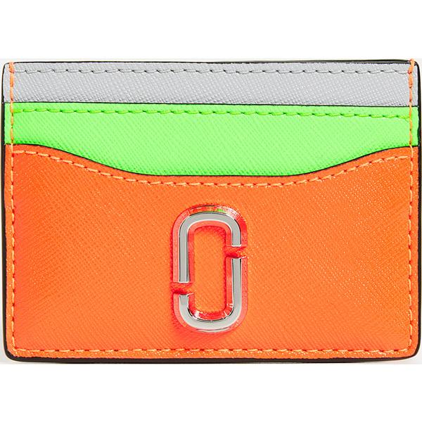 (取寄)マークジェイコブス スナップショット カード ケース Marc Jacobs Snapshot Card Case OrangeMulti