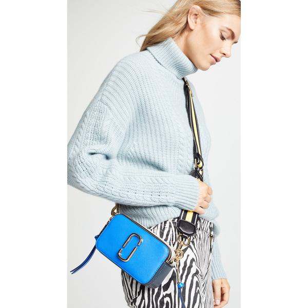 【エントリーでポイント5倍】(取寄)マークジェイコブス スナップショット カメラ バッグ Marc Jacobs Snapshot Camera Bag BlueMulti