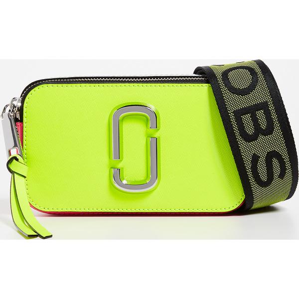 (取寄)マークジェイコブス スナップショット フルロ カメラ バッグ Marc Jacobs Snapshot Fluro Camera Bag YellowMulti