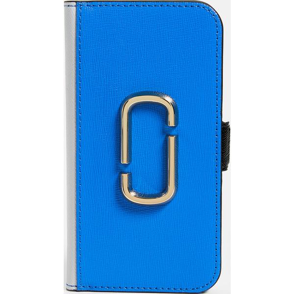 (取寄)マークジェイコブス ダブル J フォリオ アイフォン 8 ケース Marc Jacobs Double J Folio iPhone 8 Case BlueMulti